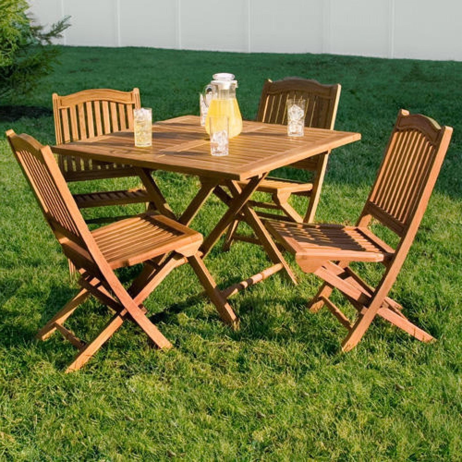 Teak Outdoor Dining Table And Wicker Chairs Home Ideas Comfortable Throughout Preferred Folding Outdoor Dining Tables (View 23 of 25)