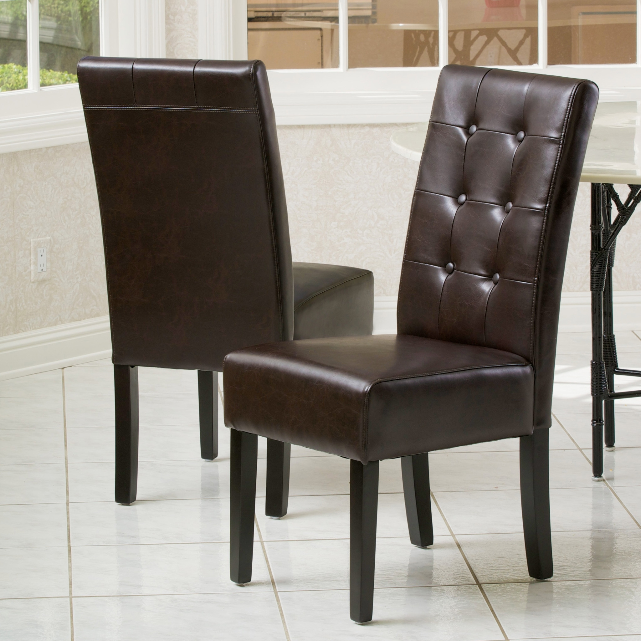 The 26 Lovely Dark Brown Wood Dining Chairs – Fernando Rees For Newest Dark Brown Leather Dining Chairs (View 23 of 25)