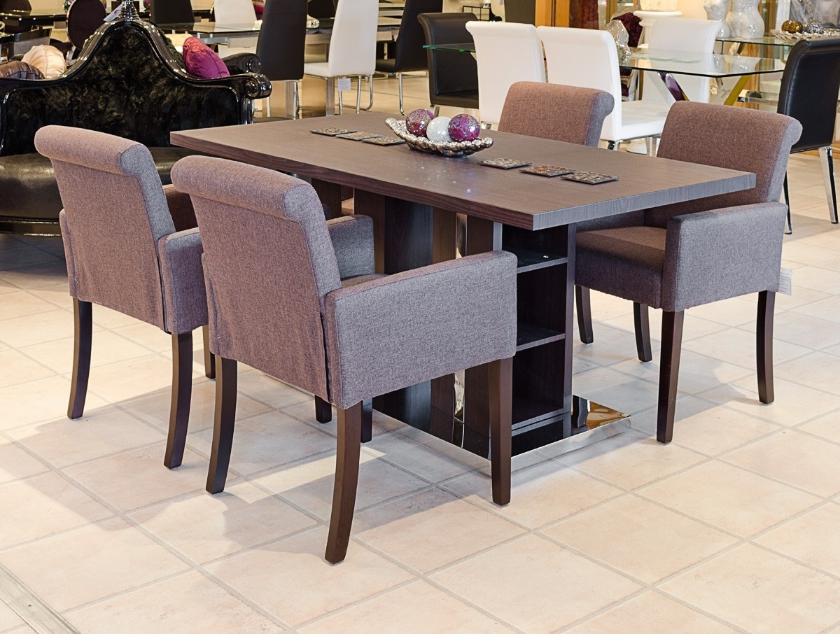 The Baronial Dining Table (Dark Oak) – Be Fabulous! Regarding Most Up To Date Dark Dining Tables (View 6 of 25)