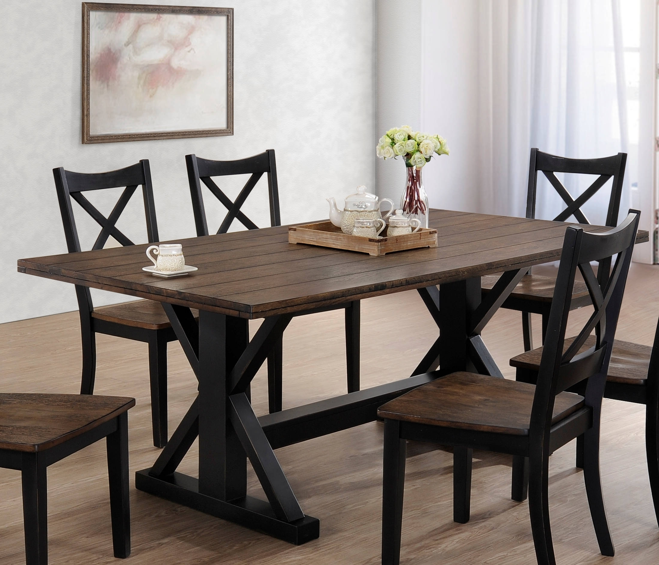 The Classy Home Regarding Rustic Oak Dining Tables (View 23 of 25)