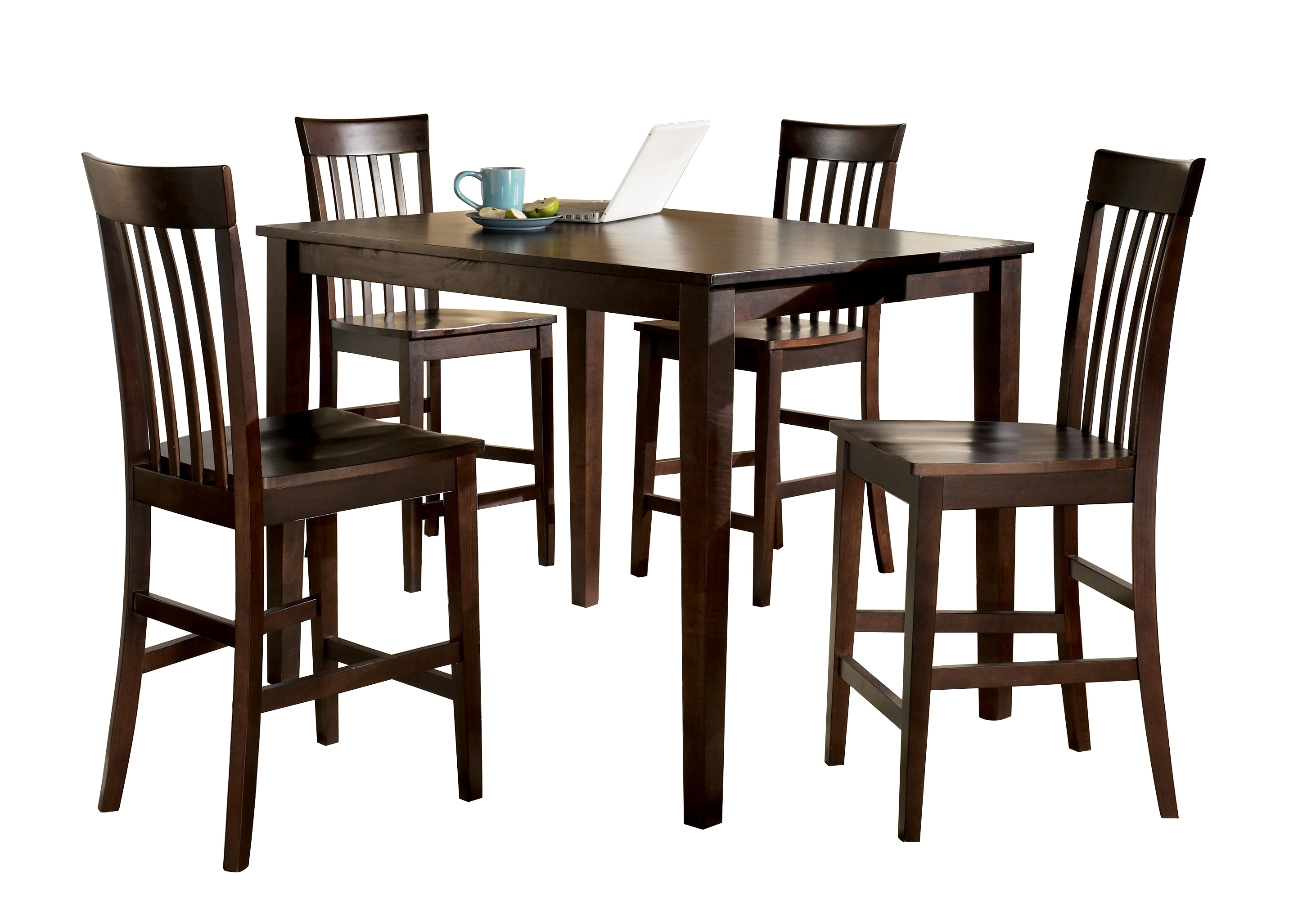 The Classy Home Within Hyland 5 Piece Counter Sets With Stools (View 10 of 25)