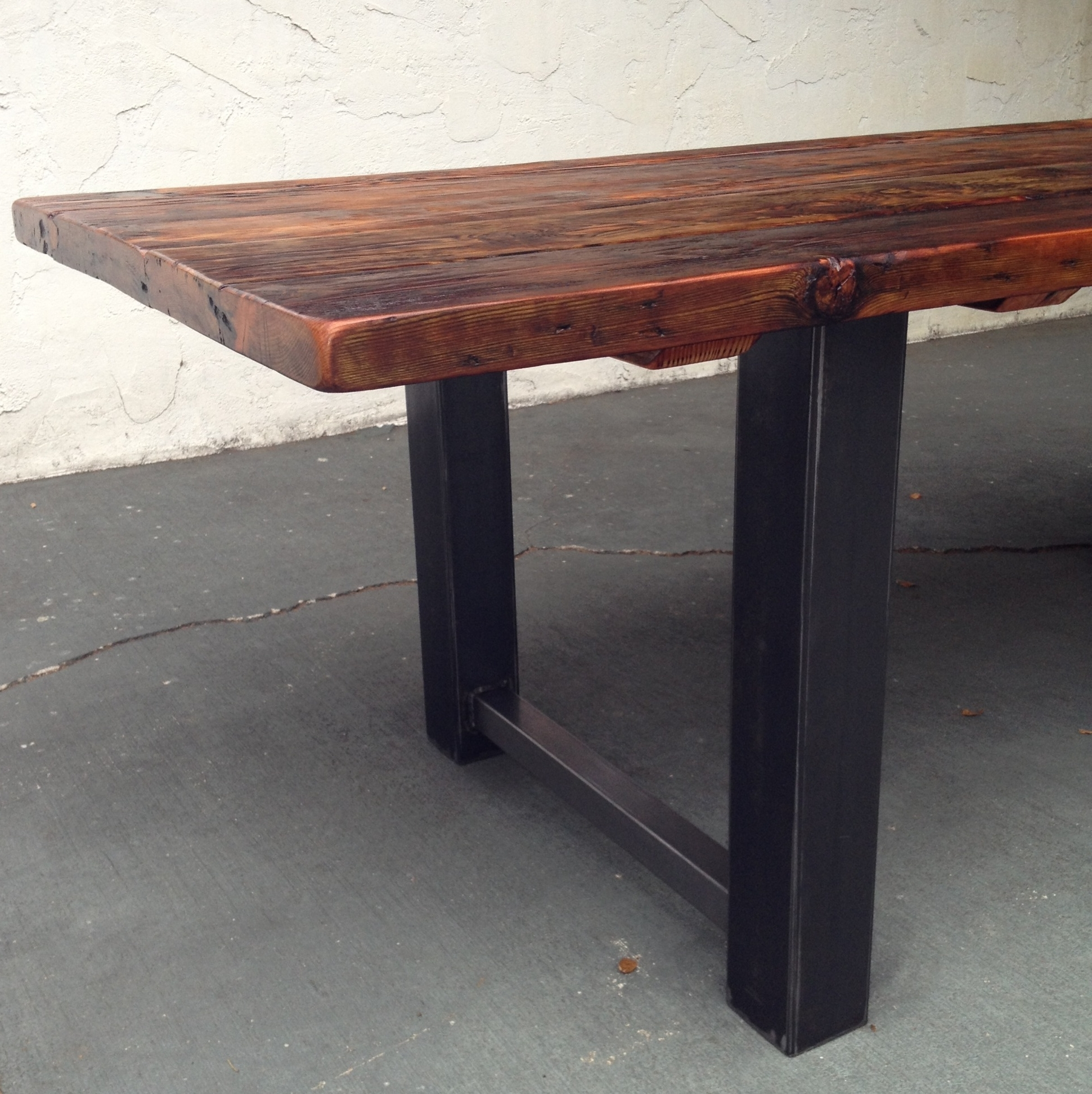 The Coastal Craftsman Pertaining To Iron And Wood Dining Tables (View 23 of 25)