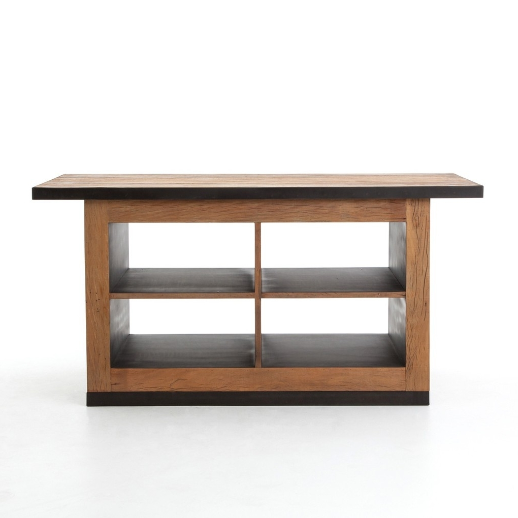 The Design Regarding Best And Newest Magnolia Home Taper Turned Bench Gathering Tables With Zinc Top (View 19 of 25)
