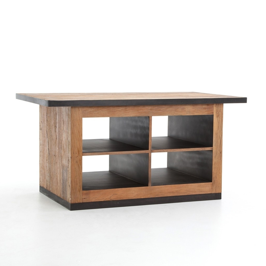 The Design With Magnolia Home Taper Turned Bench Gathering Tables With Zinc Top (View 20 of 25)
