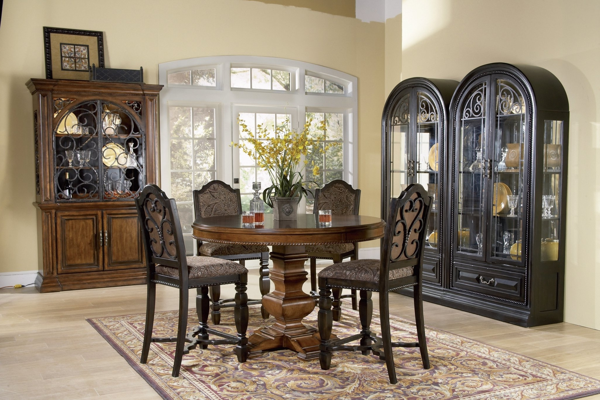 The Marbella Round Dining Room Collection – For Popular Marbella Dining Tables (View 3 of 25)