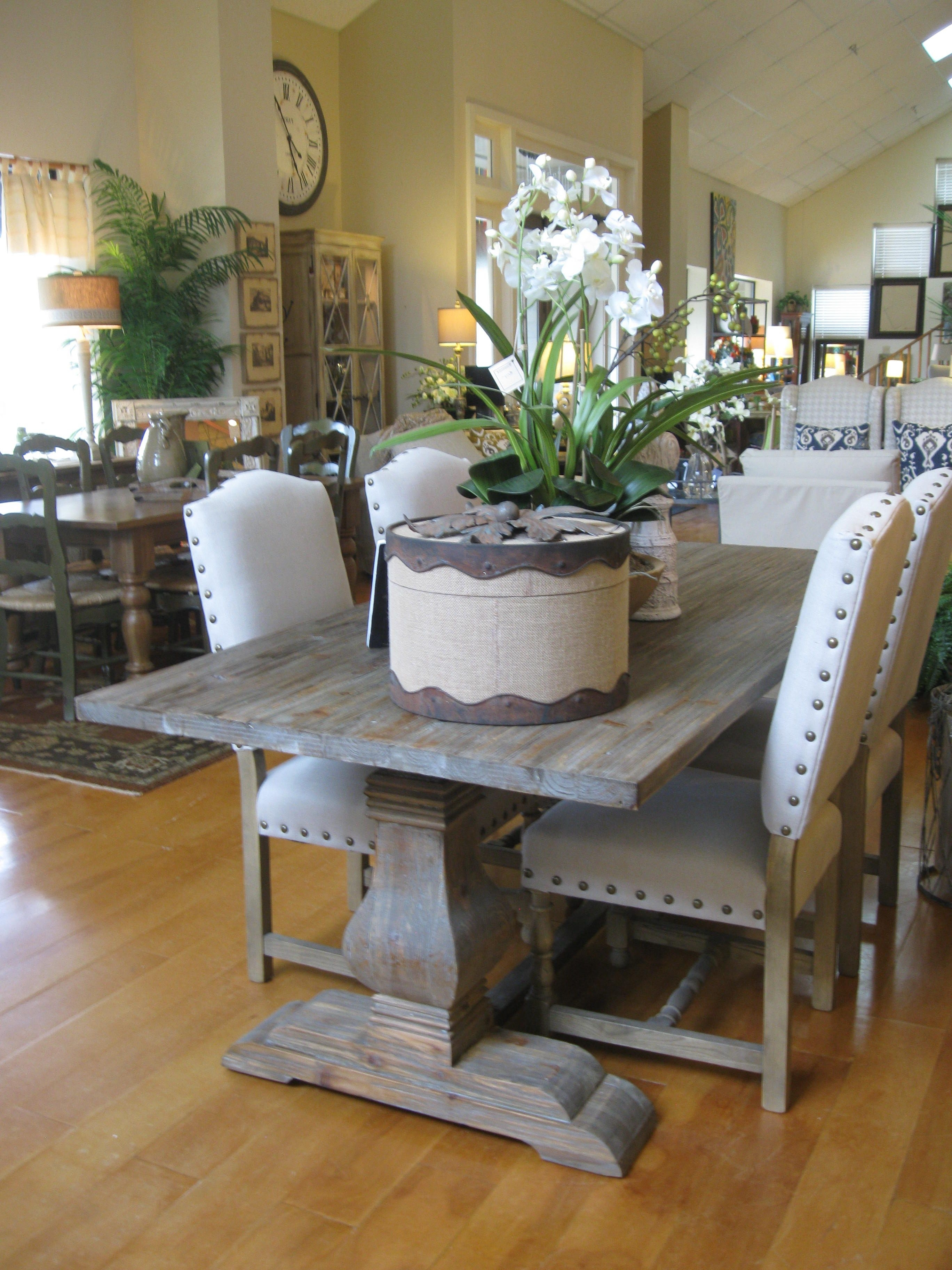 "The"" Trestle Table – I Do Absolutely Love This Tressle Table, But I Pertaining To Preferred Natural Wood & Recycled Elm 87 Inch Dining Tables (View 22 of 25)"