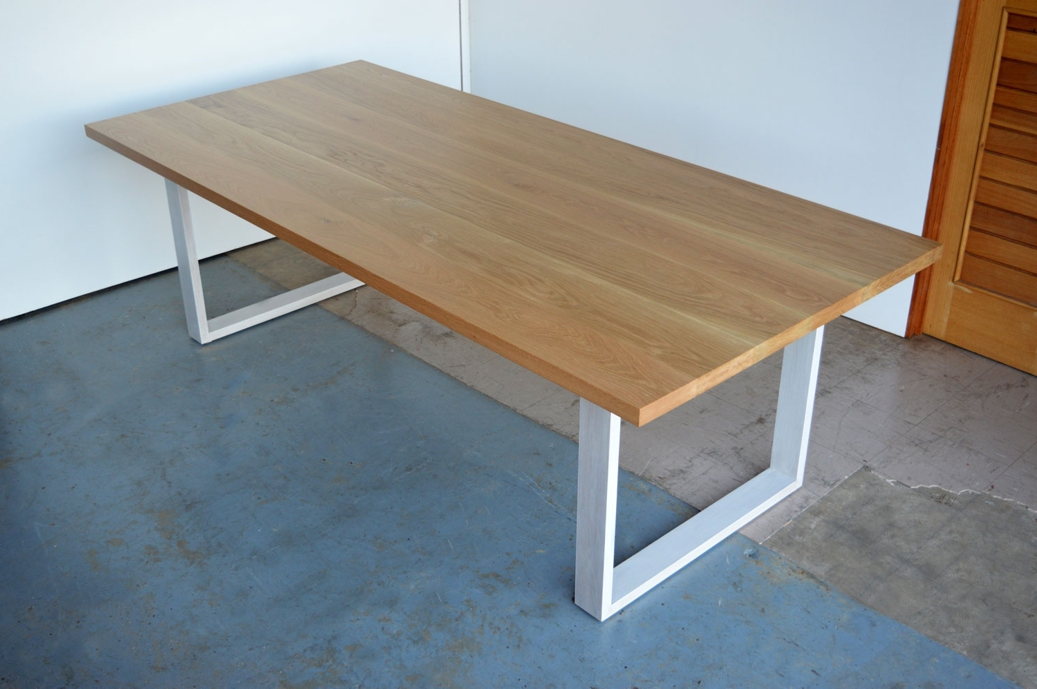 Timber Dining Tables – Custom Made Solid Timber Furniture pertaining to Favorite Dining Tables With White Legs