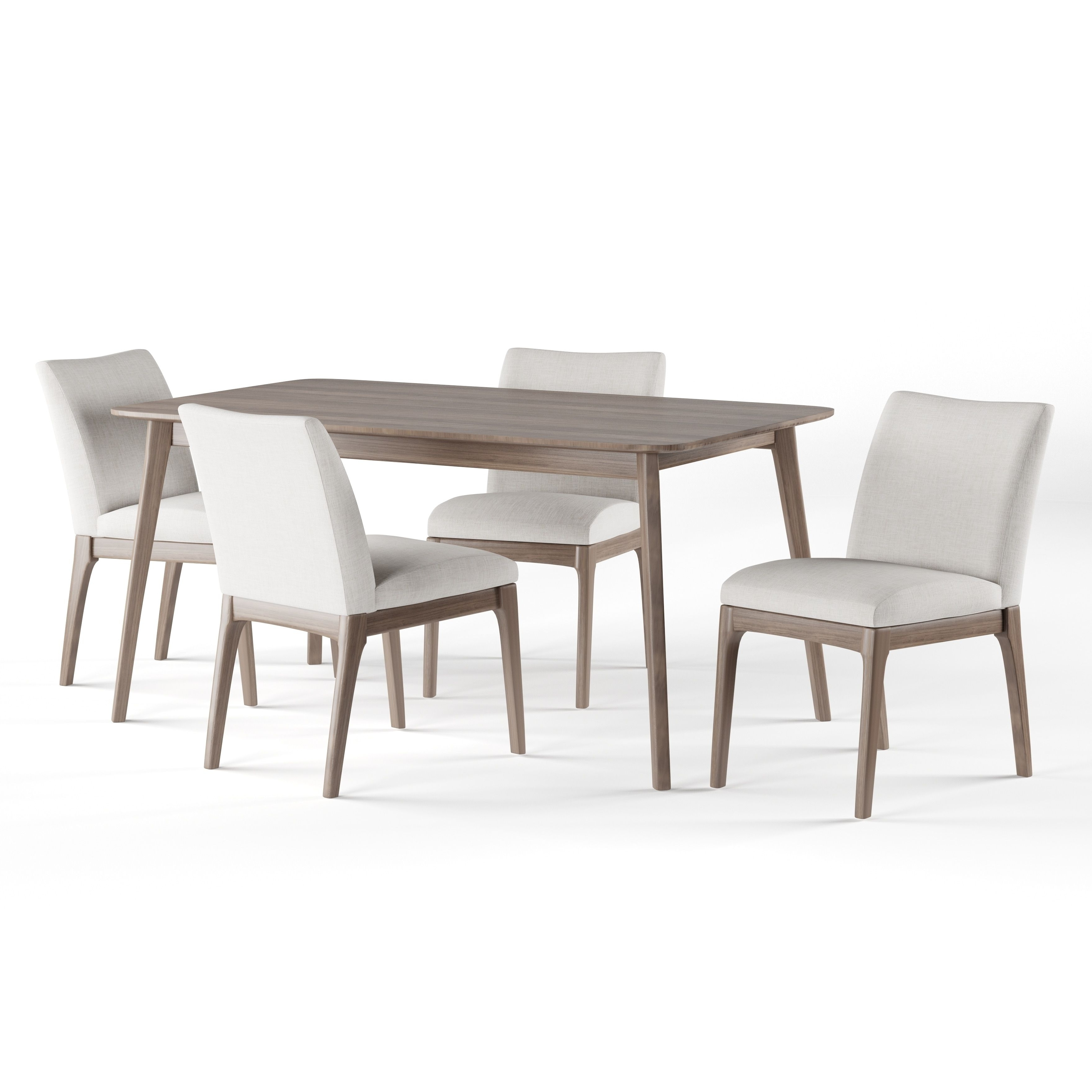 Toby 7 Piece Dining Setorren Ellis Reviews Regarding Preferred Helms 5 Piece Round Dining Sets With Side Chairs (View 5 of 25)