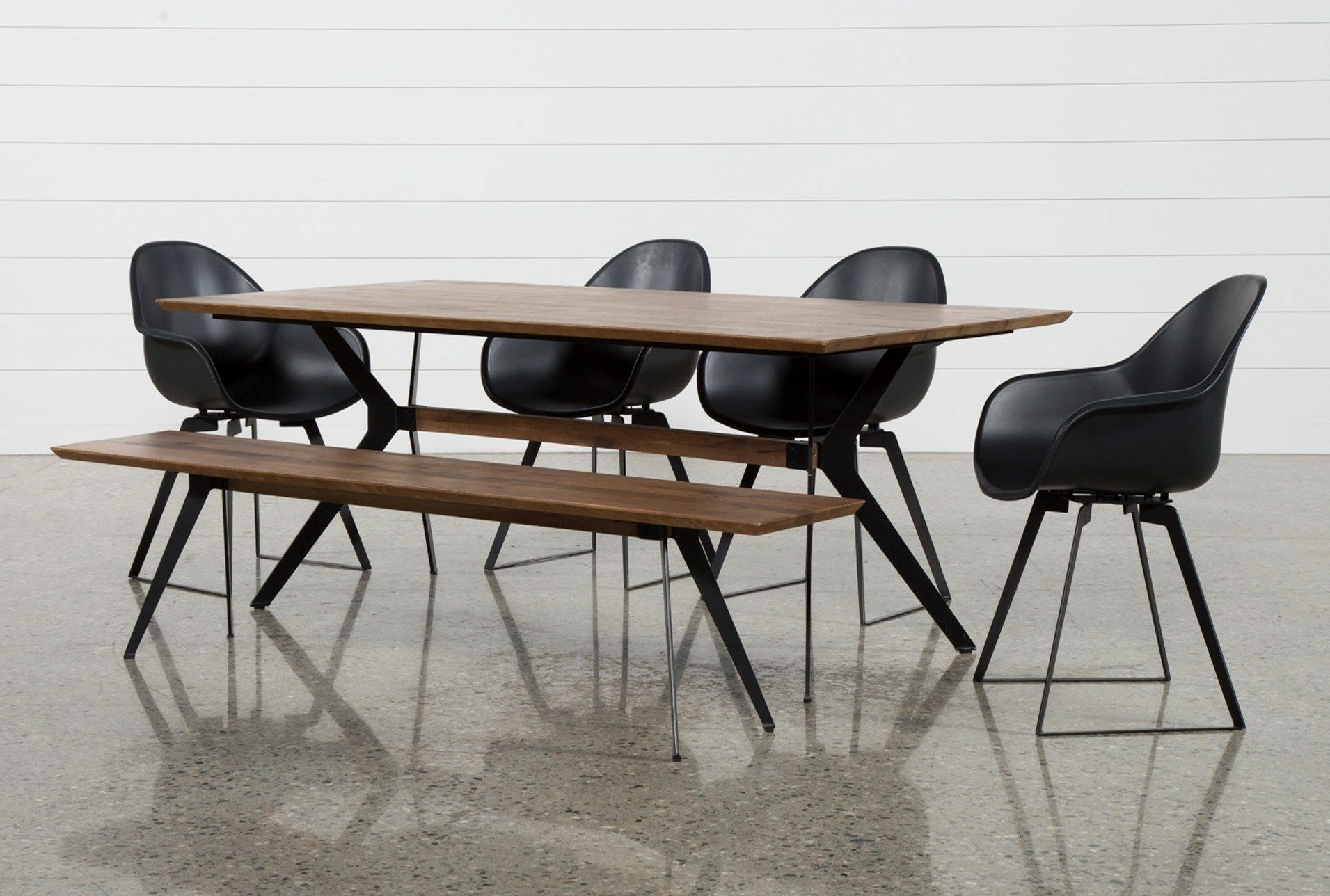 Together, Our Weaver Dining Table, Bench And Alvin Arm Chair Bring Within Latest Weaver Ii Dining Tables (View 5 of 25)