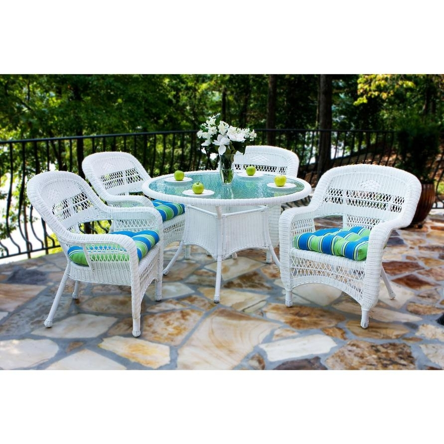 Tortuga Portside Patio Furniture Tortuga Outdoor Portside 5 Piece In Trendy Outdoor Tortuga Dining Tables (View 24 of 25)