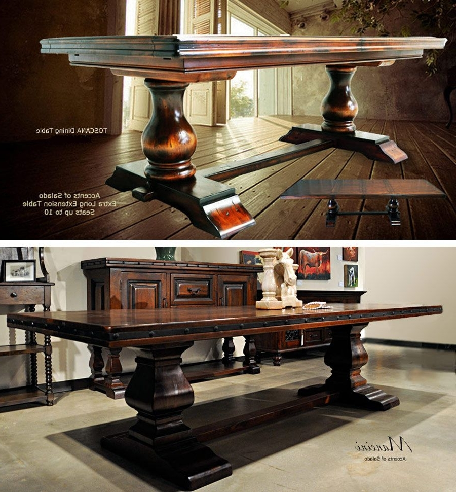 Toscana Dining Tables Regarding Fashionable Tuscan Dining Tables At Accents Of Salado. (View 16 of 25)
