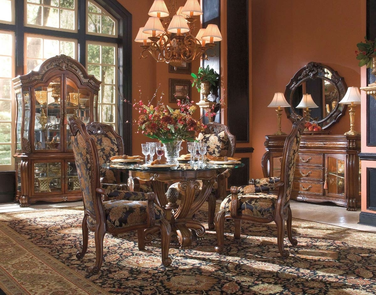 Traditional Dining Tables With Regard To Recent Traditional Dining Table Sets – Castrophotos (View 21 of 25)