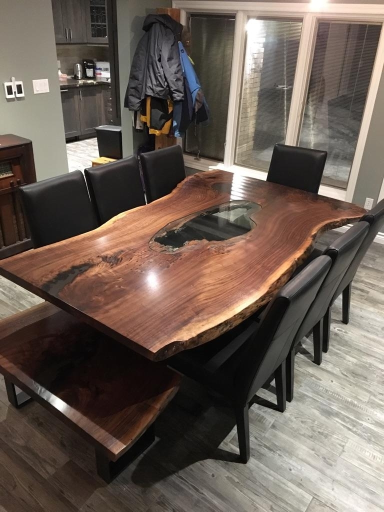 Tree Dining Tables Intended For 2018 Solid Wood Designs, Live Edge Harvest Tables, Boardroom & Conference (View 18 of 25)