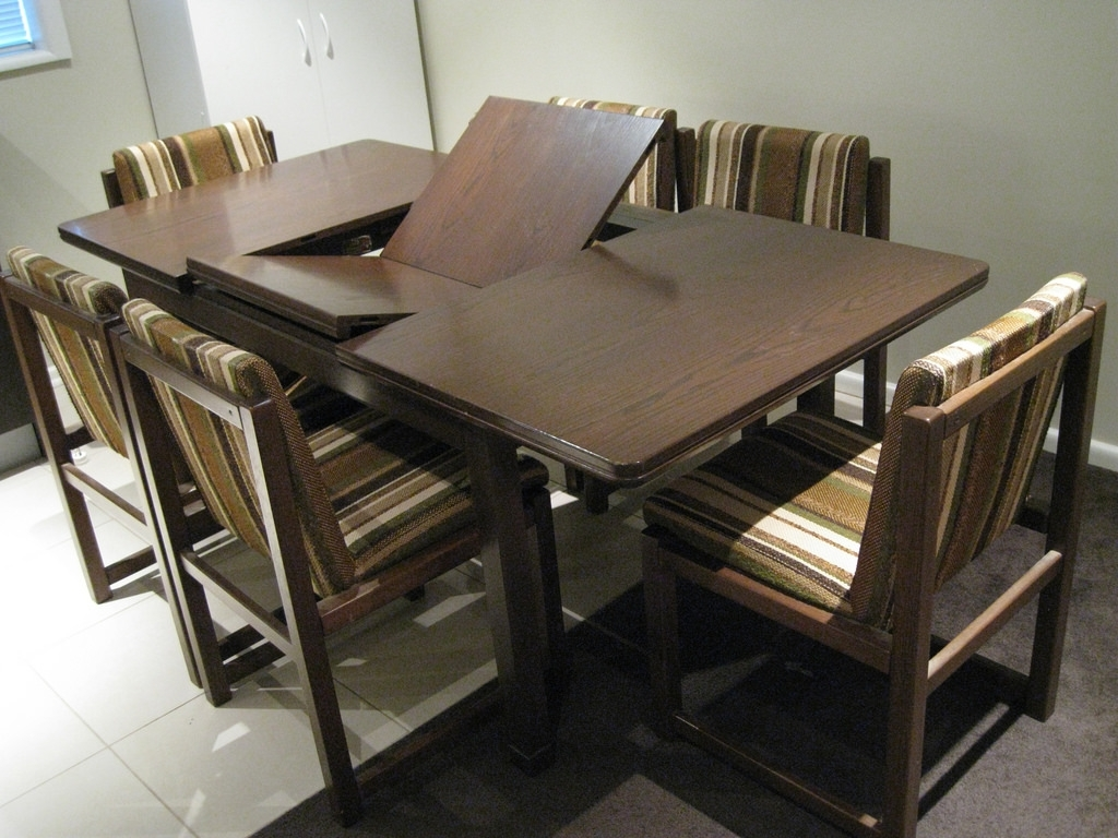 Trendy 8 Seater Dining Table Sets Pertaining To Dining Tables: Inspiring 8 Seat Round Dining Table Round Dining (View 23 of 25)