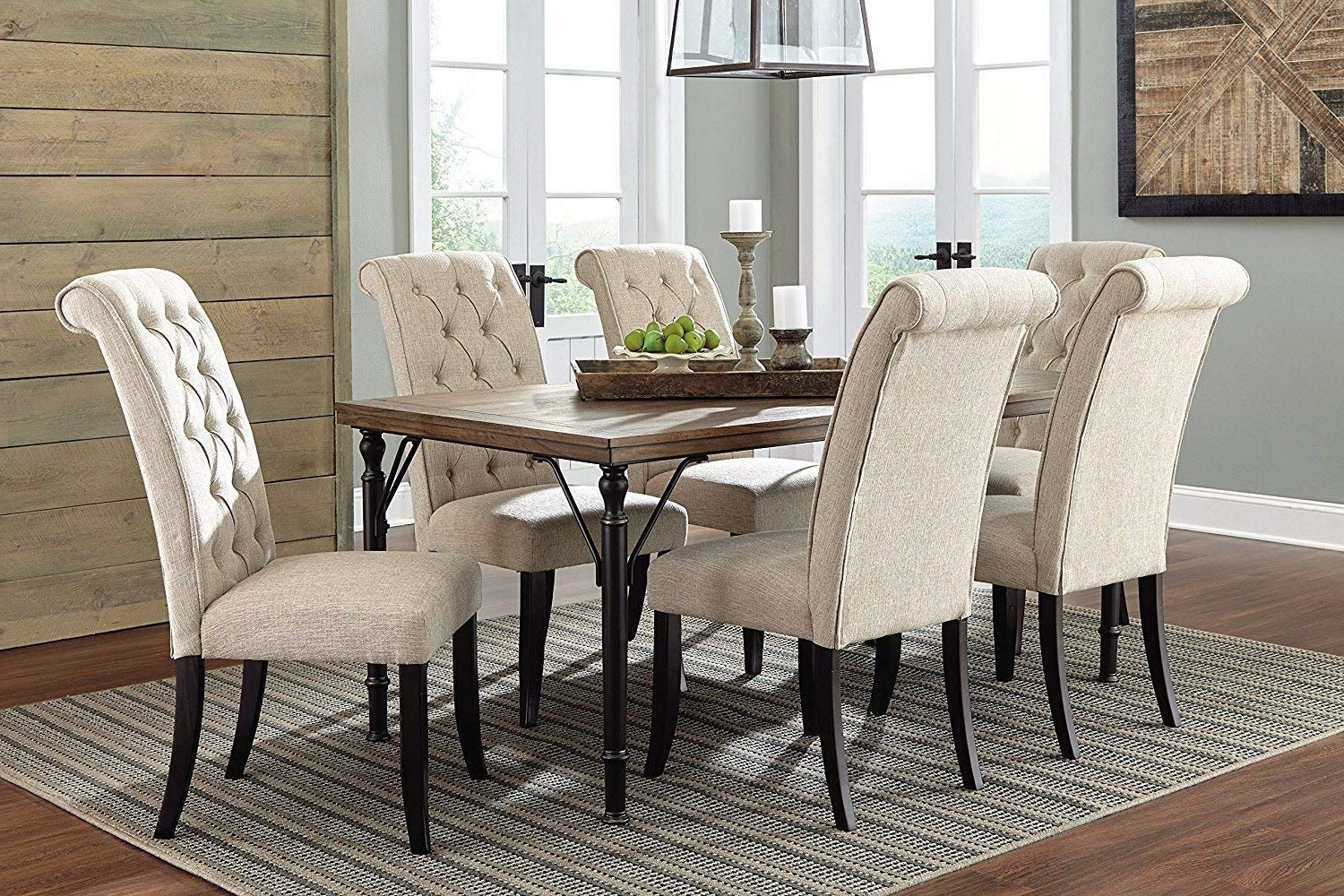 Trendy Amazon – Ashley Furniture Signature Design – Tripton Dining Room Intended For Market 7 Piece Dining Sets With Host And Side Chairs (View 21 of 25)