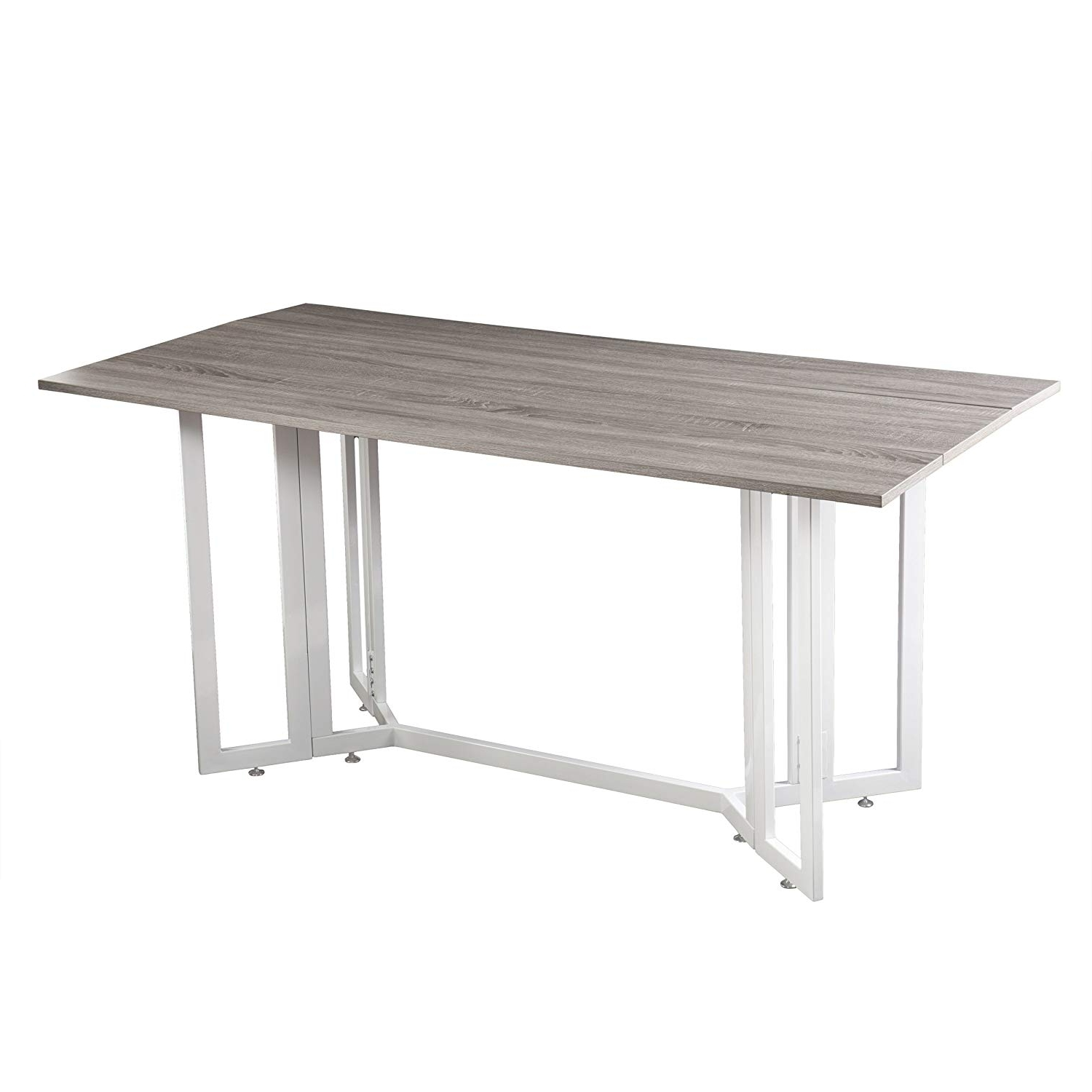Trendy Amazon – Holly & Martin Driness Drop Leaf Console Dining Table Inside White Melamine Dining Tables (View 17 of 25)