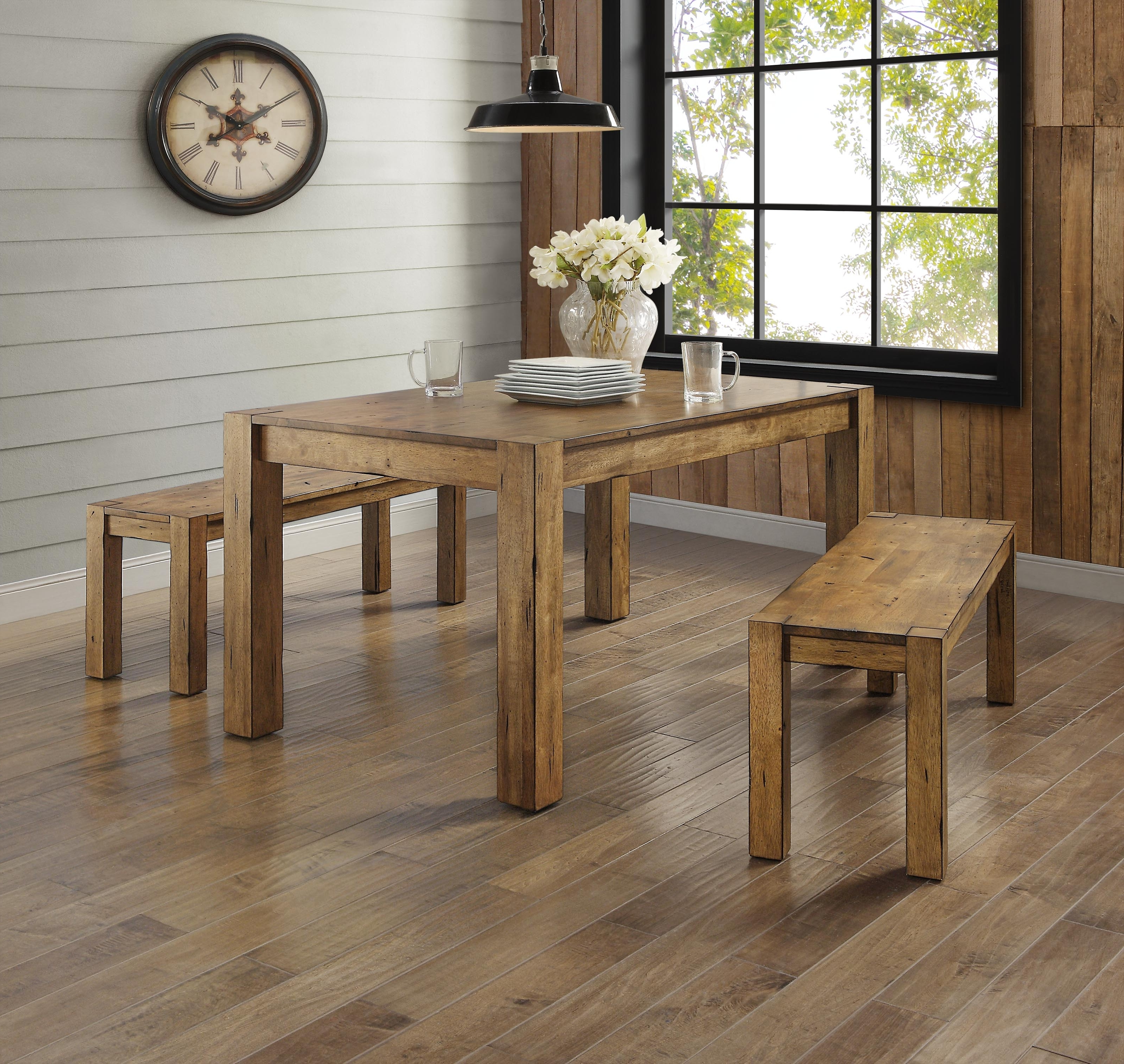 Trendy Better Homes & Gardens Bryant Dining Table, Multiple Finishes Inside Rustic Dining Tables (View 14 of 25)