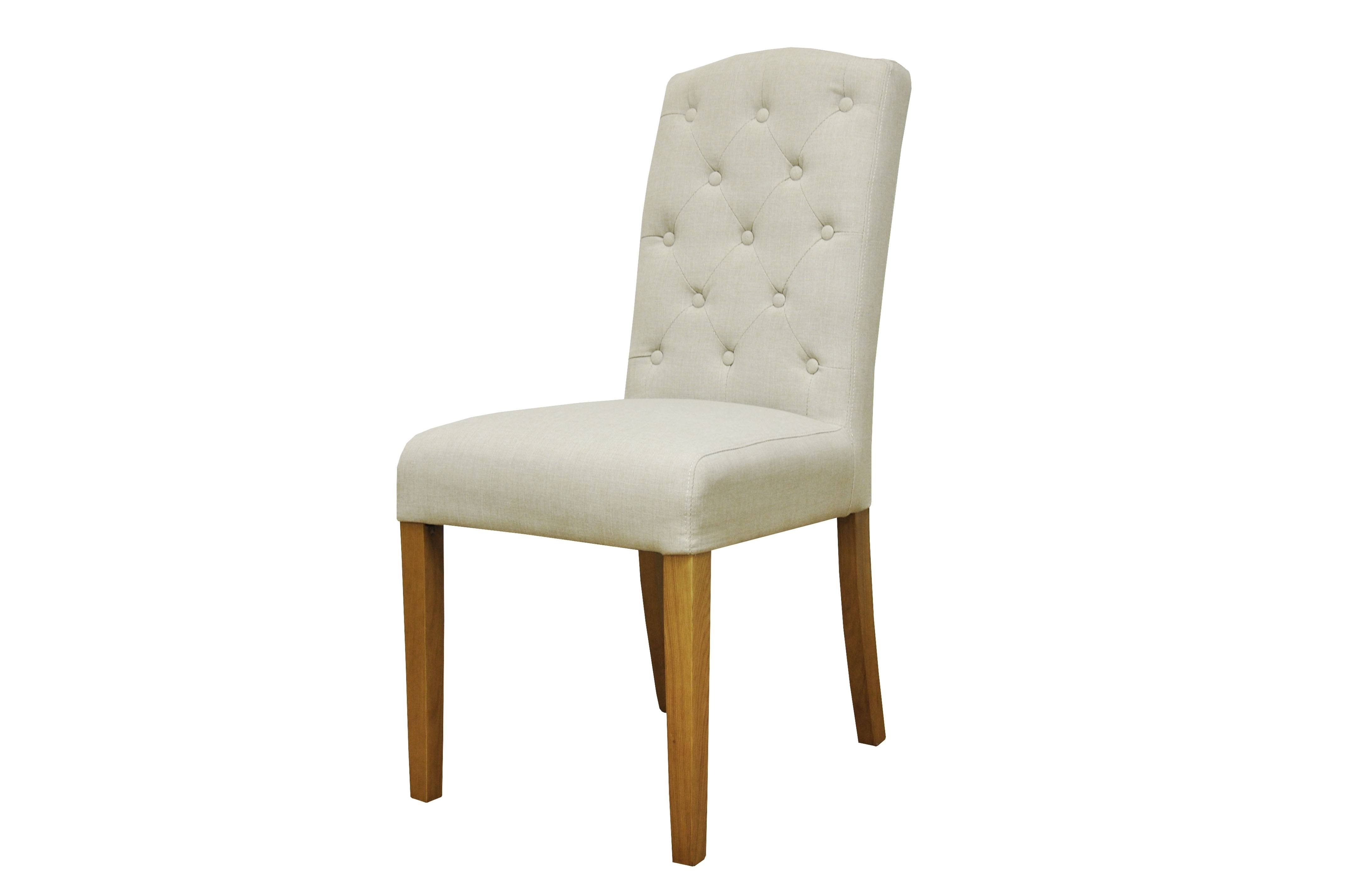 Trendy Button Back Dining Chairs In Button Back Upholstered Chair (View 23 of 25)