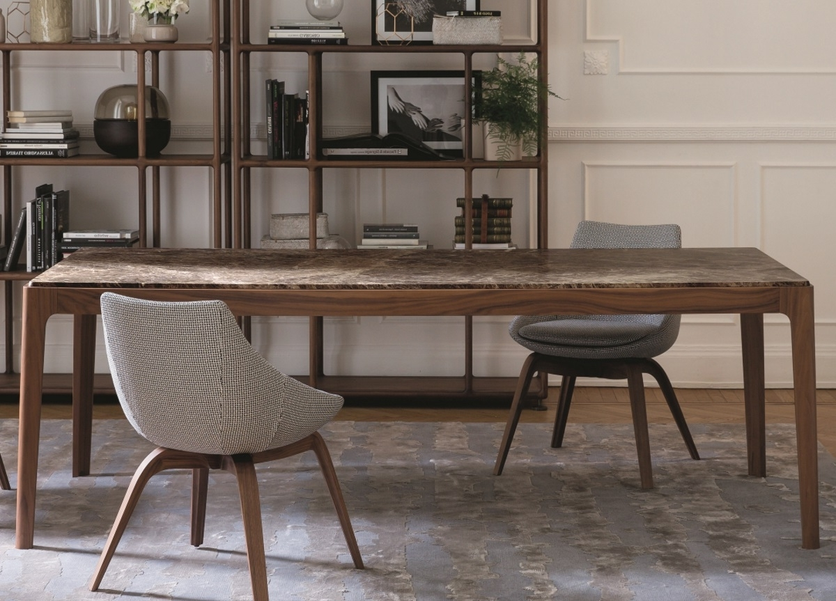 Trendy Dine :: Dining Table :: Porada – Ziggy Table Throughout Dining Tables London (View 22 of 25)