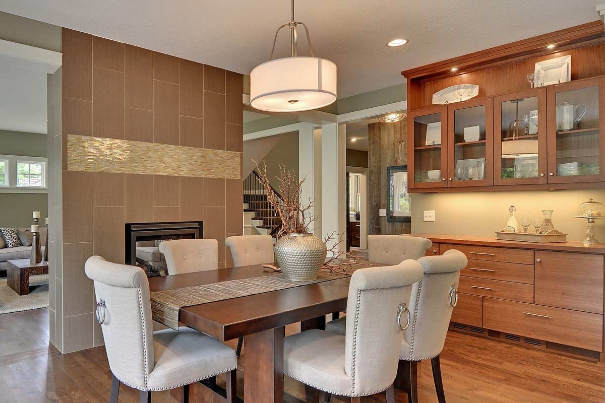 Trendy Dining Room Cabinets Throughout Living & Dining Room Cabinets (View 15 of 25)