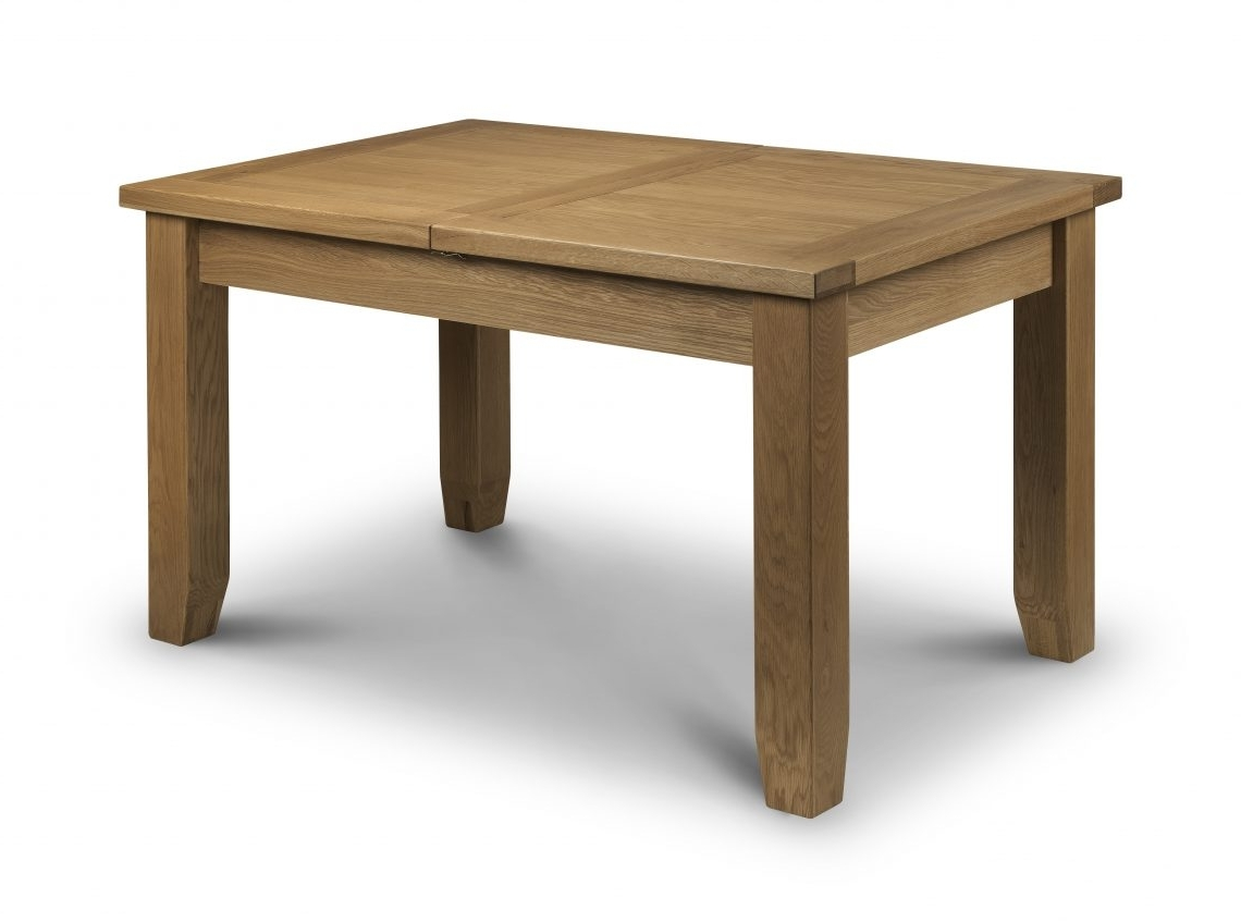 Trendy Extending Oak Dining Tables Intended For Astoria Extending Oak Dining Table – Crazy House Furniturecrazy (View 25 of 25)