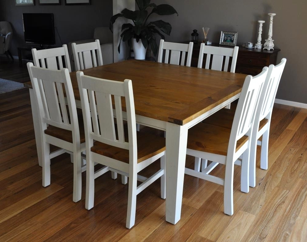 Trendy Formal Dining Sets Tables American Freight With 8 Piece Dining Table With Regard To White Dining Tables 8 Seater (View 18 of 25)