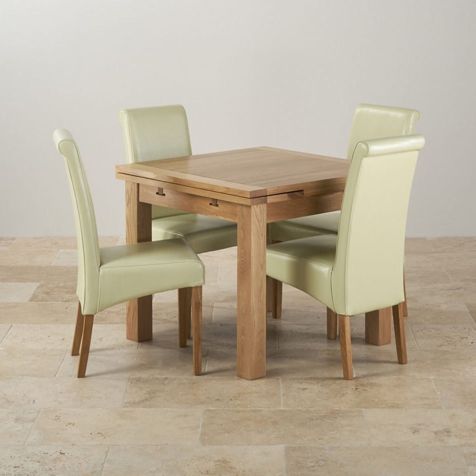 Trendy Furniture Natural Solid Oak Ft Quot Dining Table With Cream Teak Within Cream And Oak Dining Tables (View 22 of 25)