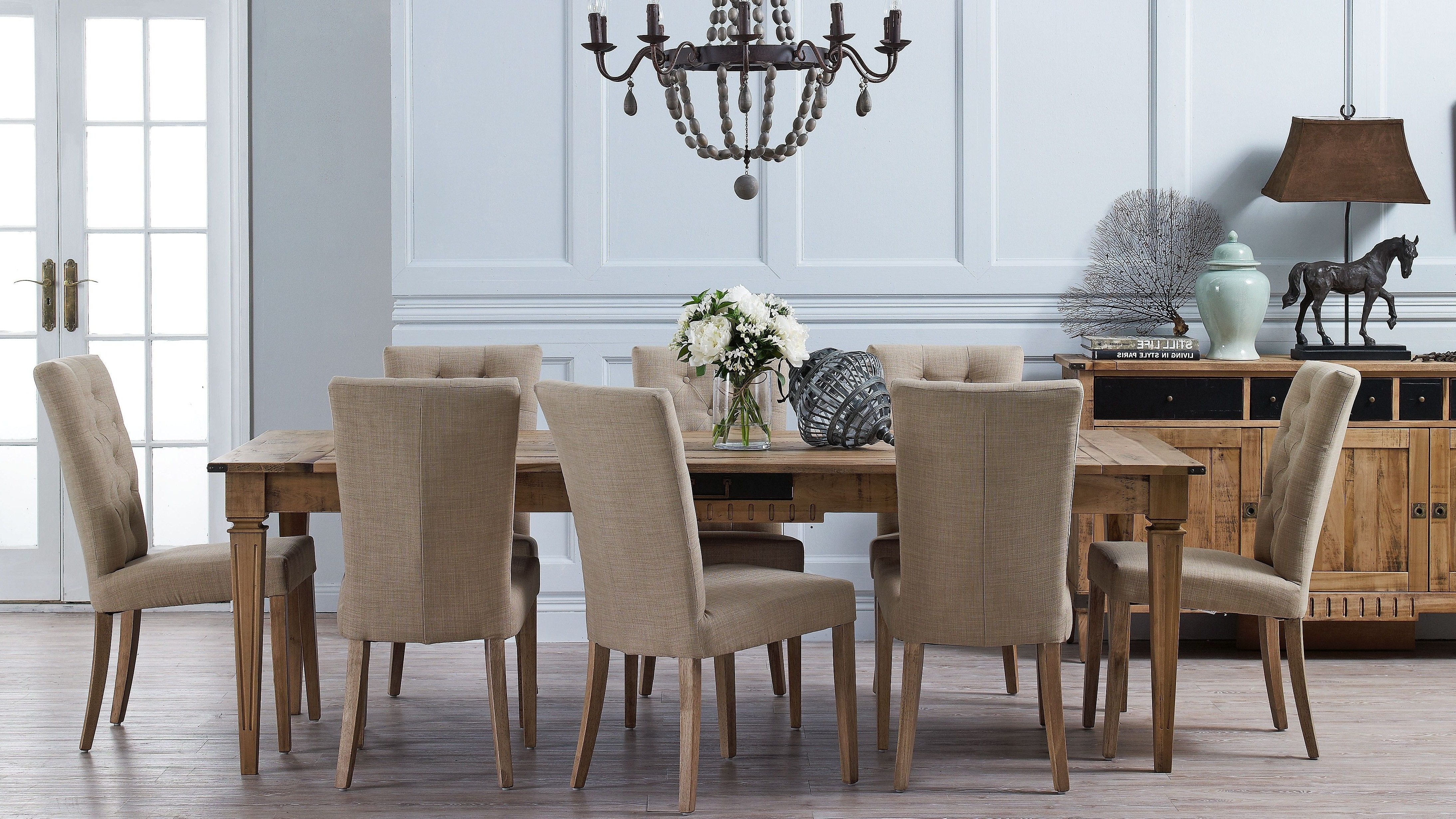Trendy Harvey Dining Tables Inside Atelier 9 Piece Dining Suite Chairs – Harvey Norman (View 2 of 25)