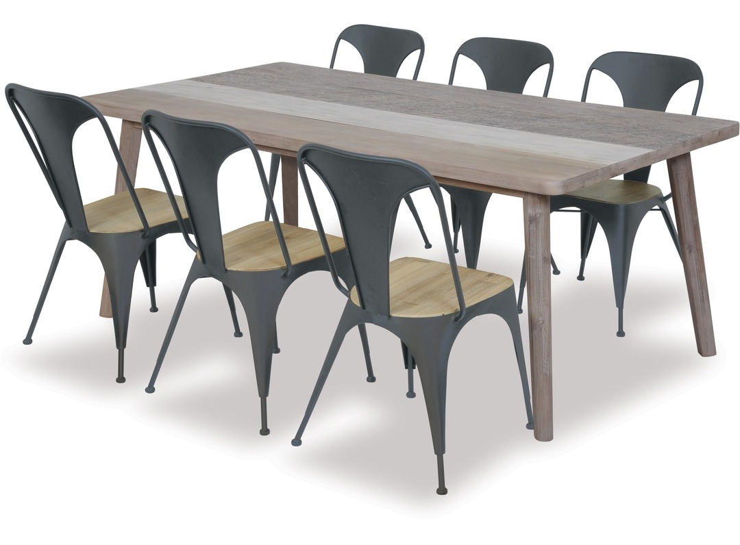 Trendy Havana Dining Tables Pertaining To Havana Dining Table & Loft Chairs X  (View 25 of 25)