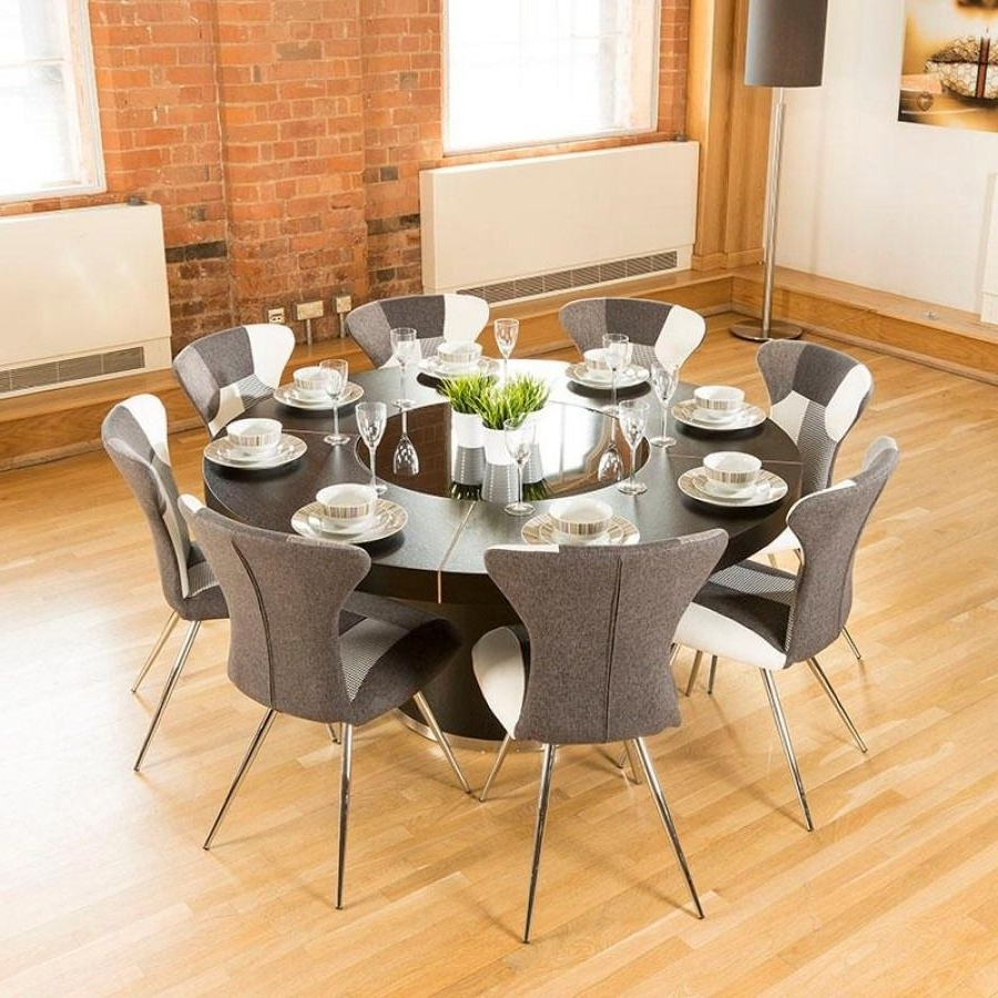Trendy Huge Round Dining Tables Throughout 100+ Large Round Dining Table With Lazy Susan – Best Quality (View 9 of 25)