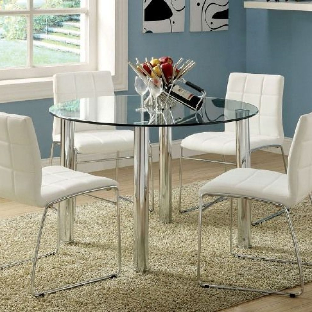 Trendy Ikea Round Glass Top Dining Tables In Ikea Round Glass Top Dining Tables (View 9 of 25)