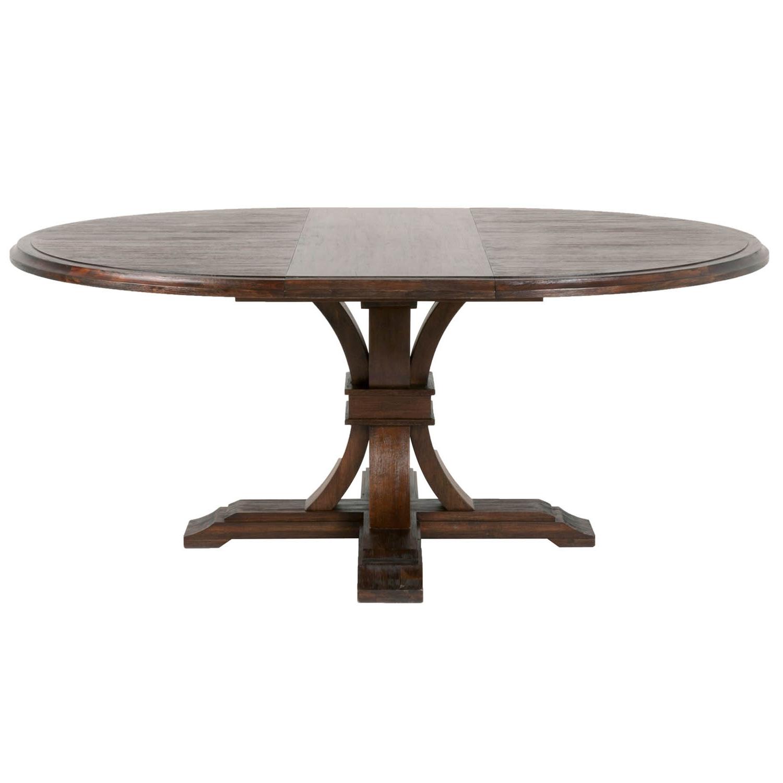 Trendy Jaxon Grey Round Extension Dining Tables Intended For Round Extension Dining Table – Lisaasmith (View 12 of 25)