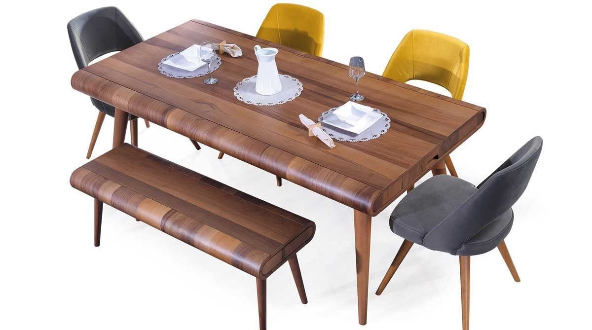 Trendy Leon Dining Table – Confort Furniture Inside Leon Dining Tables (View 2 of 25)