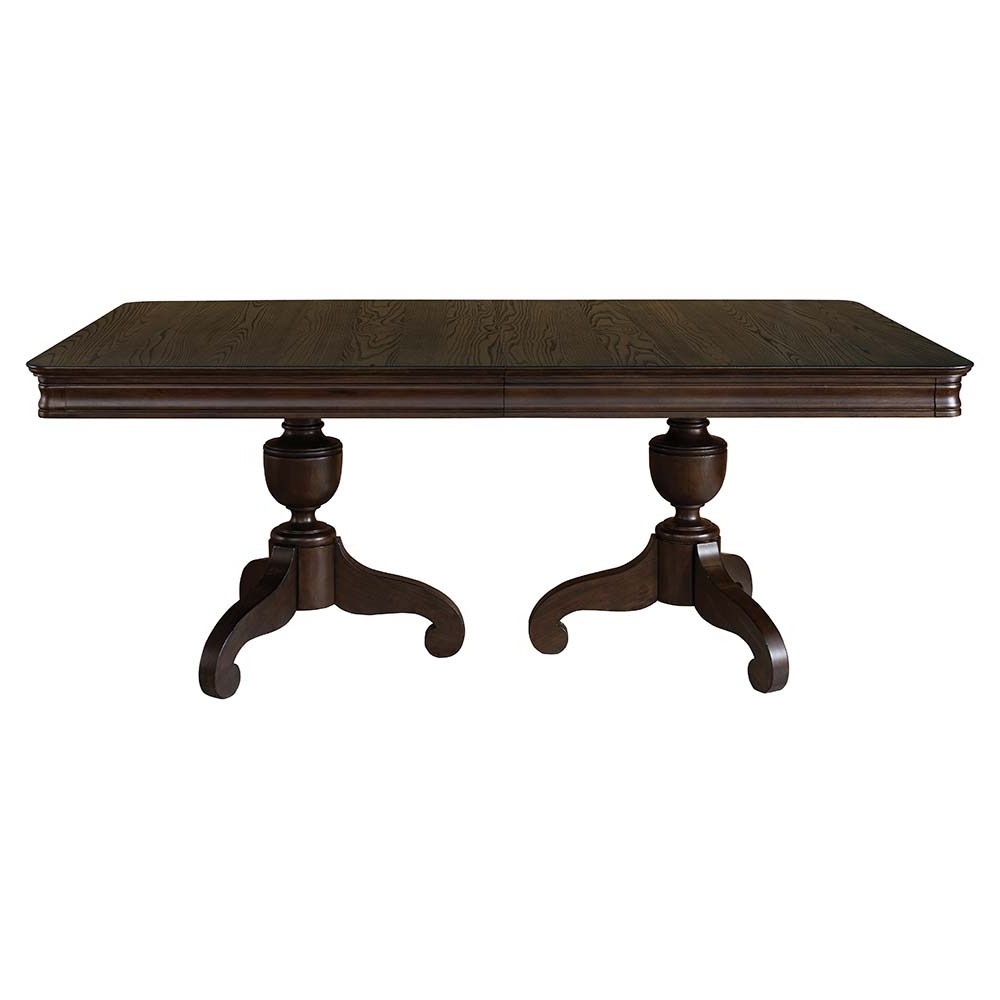 Trendy Magnolia Home Double Pedestal Dining Tables With Regard To The Gallery Double Pedestal Dining Table On A Budget (View 21 of 25)