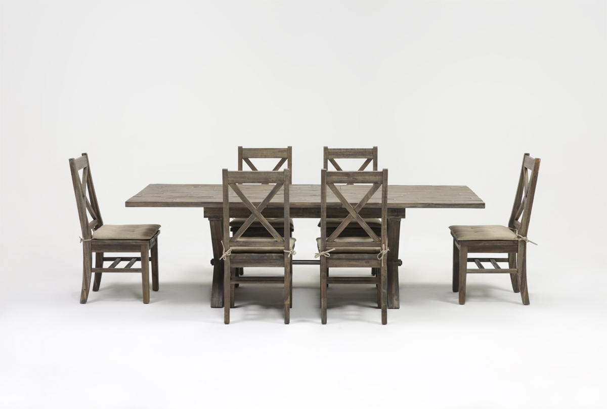 Trendy Mallard 7 Piece Extension Dining Set With Regard To Mallard Extension Dining Tables (View 25 of 25)