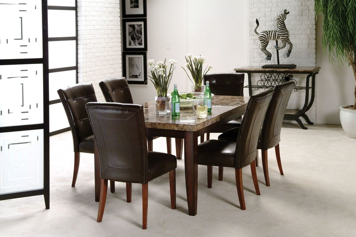 Trendy Montibello Dining Table + 6 Chairs At Gardner White Inside 6 Chairs Dining Tables (View 25 of 25)