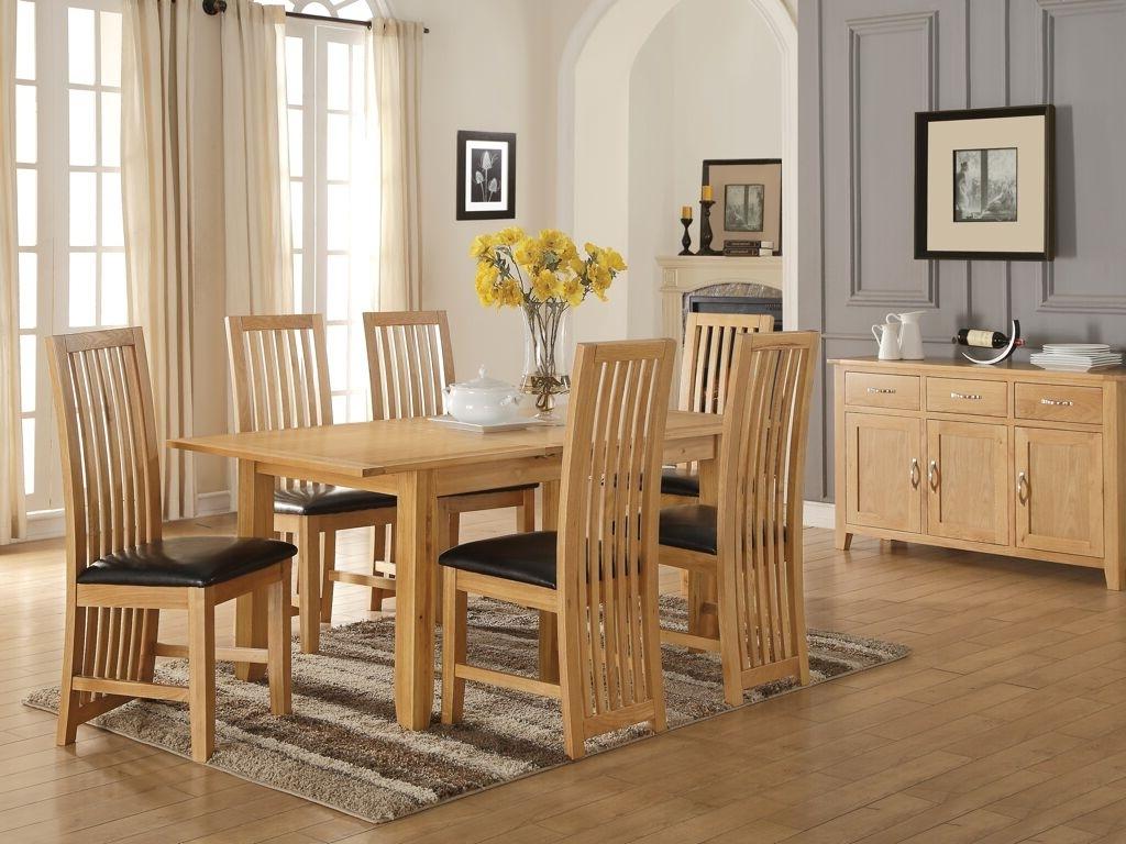Trendy Oak Dining Sets For Ellington Oak Dining Table – M (View 23 of 25)