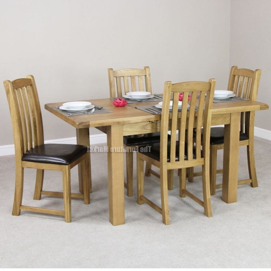 Trendy Oak Dining Tables And 4 Chairs For Small Oak Dining Table And 4 Chairs Best Of Richmond Small Extending (View 20 of 25)