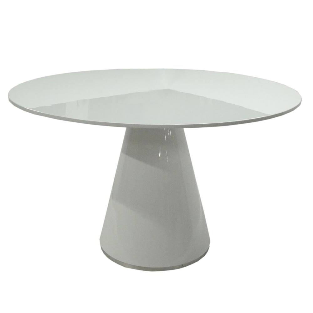 Trendy Otago Dining Table Round White – Boulevard Urban Living Pertaining To Round White Dining Tables (View 24 of 25)