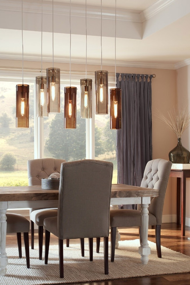 Trendy Over Dining Tables Lights For Adorable Dining Room Furniture Pedestal Bar Plywood Pendant Lights (View 24 of 25)