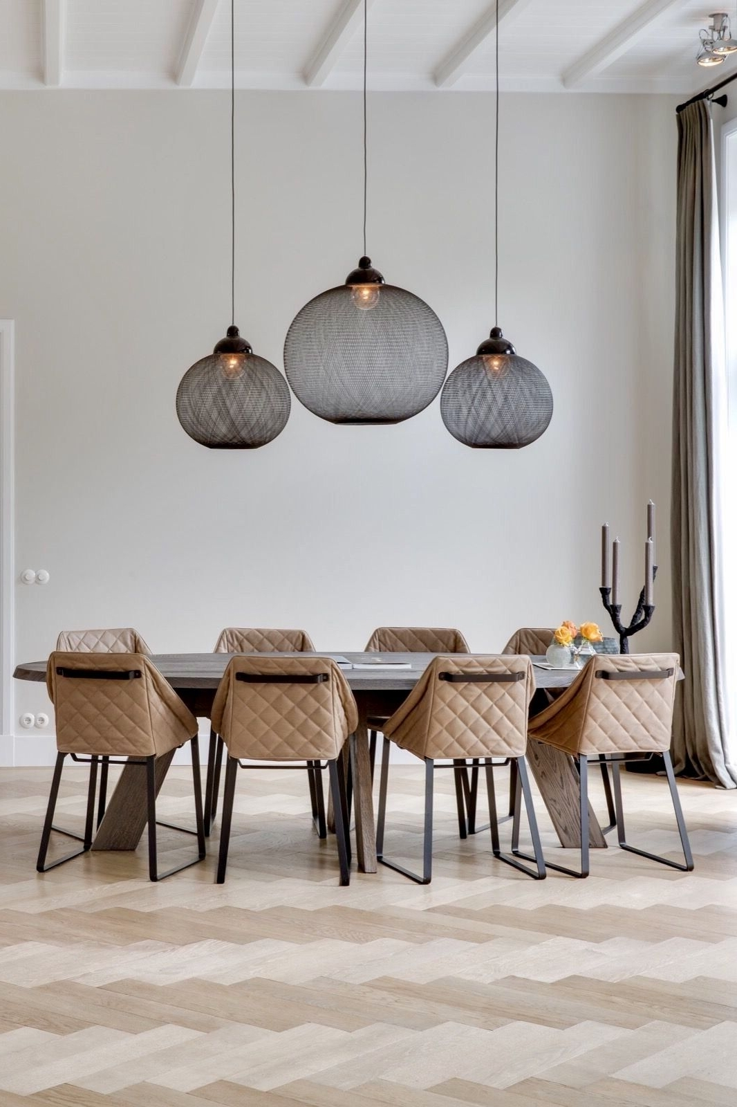 Trendy Over Dining Tables Lights In 22 Best Ideas Of Pendant Lighting For Kitchen, Dining Room And (View 3 of 25)