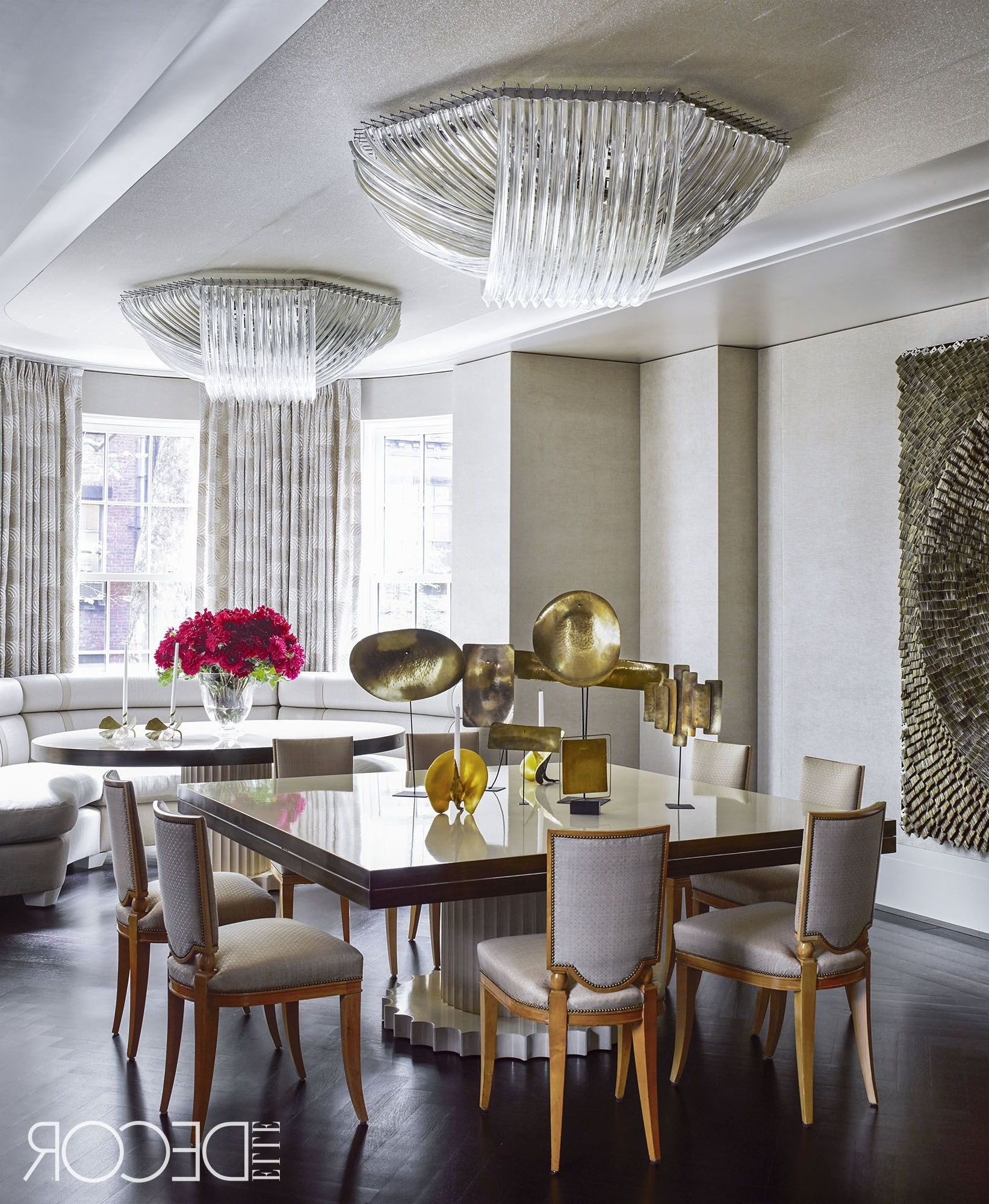 Trendy Over Dining Tables Lights Pertaining To 26 Best Dining Room Light Fixtures – Chandelier & Pendant Lighting (View 23 of 25)