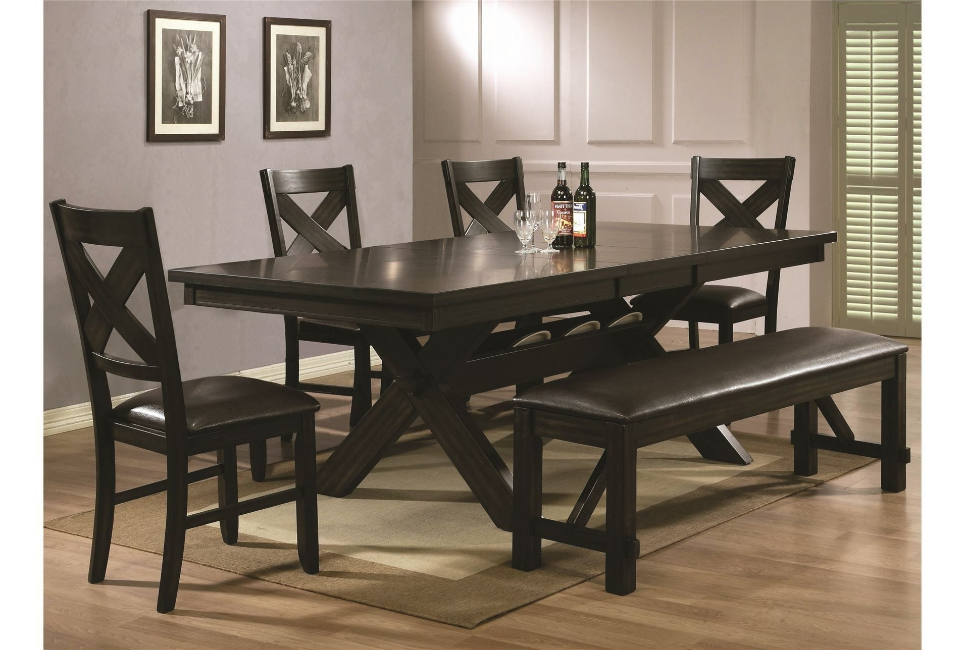 Trendy Pelennor 6 Piece Extension Dining Set (View 24 of 25)