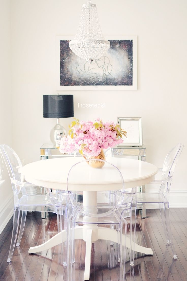 Trendy Perks Of Choosing White Dining Table And Chairs – Blogbeen With Smartie Dining Tables And Chairs (View 20 of 25)