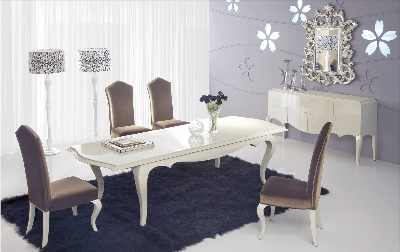 Trendy Product Printer Friendly Page Inside Cream Lacquer Dining Tables (View 2 of 25)
