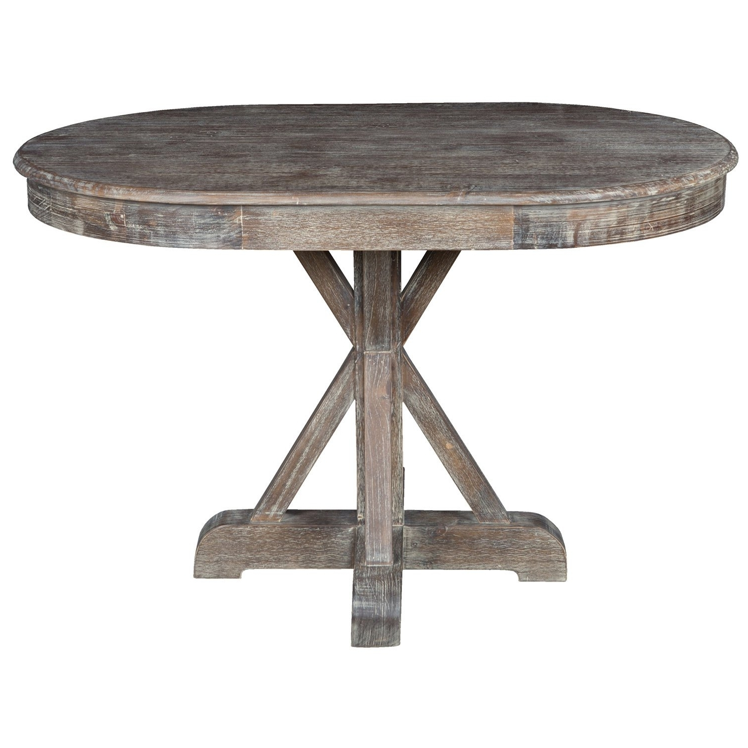 Trendy Shop Rockie Rustic Oval Dining Tablekosas Home – Brown Within Oval Reclaimed Wood Dining Tables (View 21 of 25)