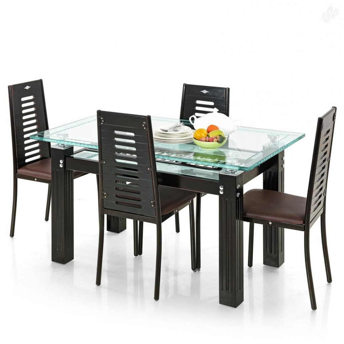 Trendy Small 4 Seater Dining Tables With Regard To Dining Tables Buy Small Dining Table Online Tables Chairs Te Set To (View 24 of 25)