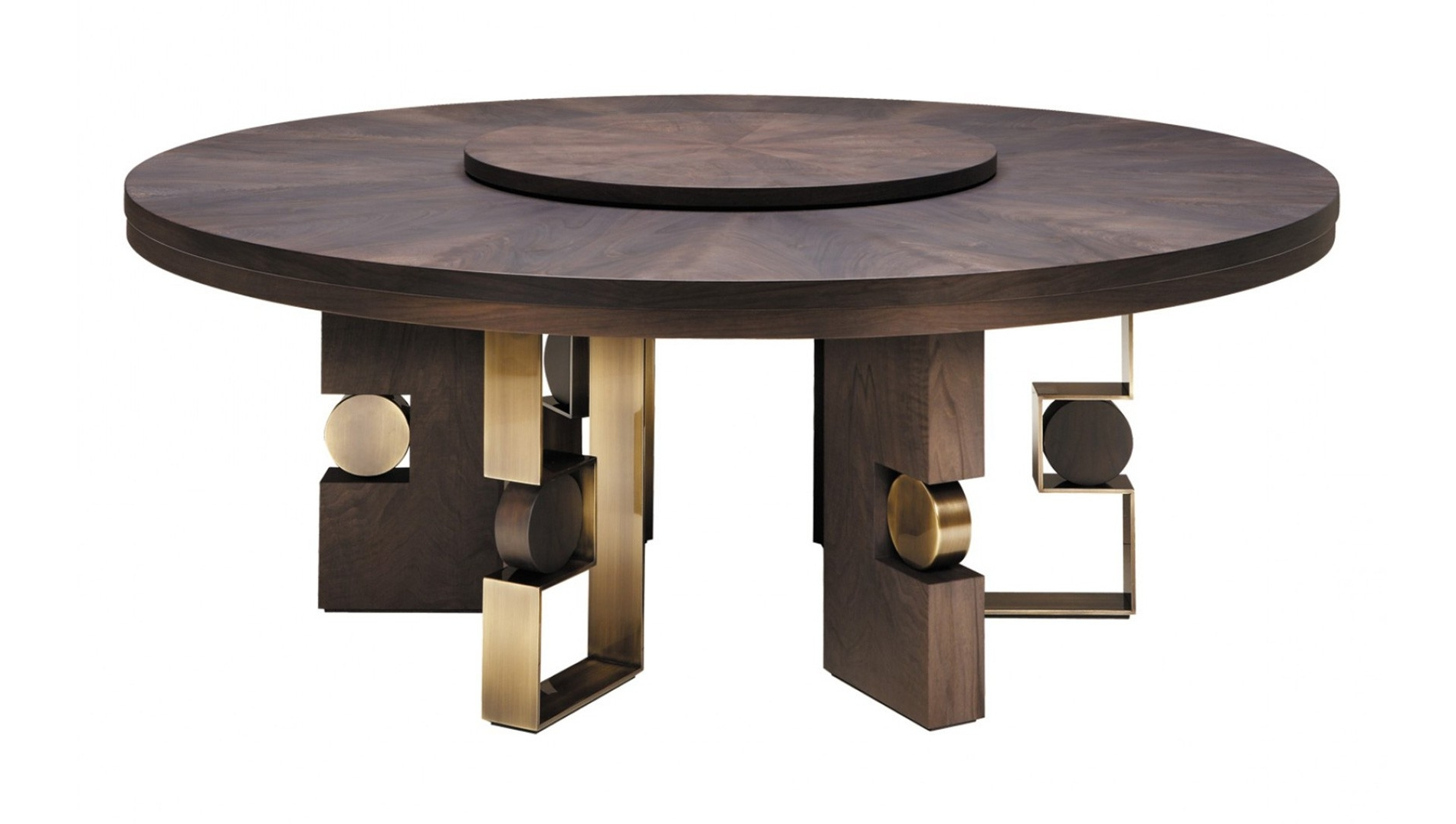 Trendy Smania, Rodrigo Circular Dining Table – Luxdeco Within Circular Dining Tables (View 1 of 25)