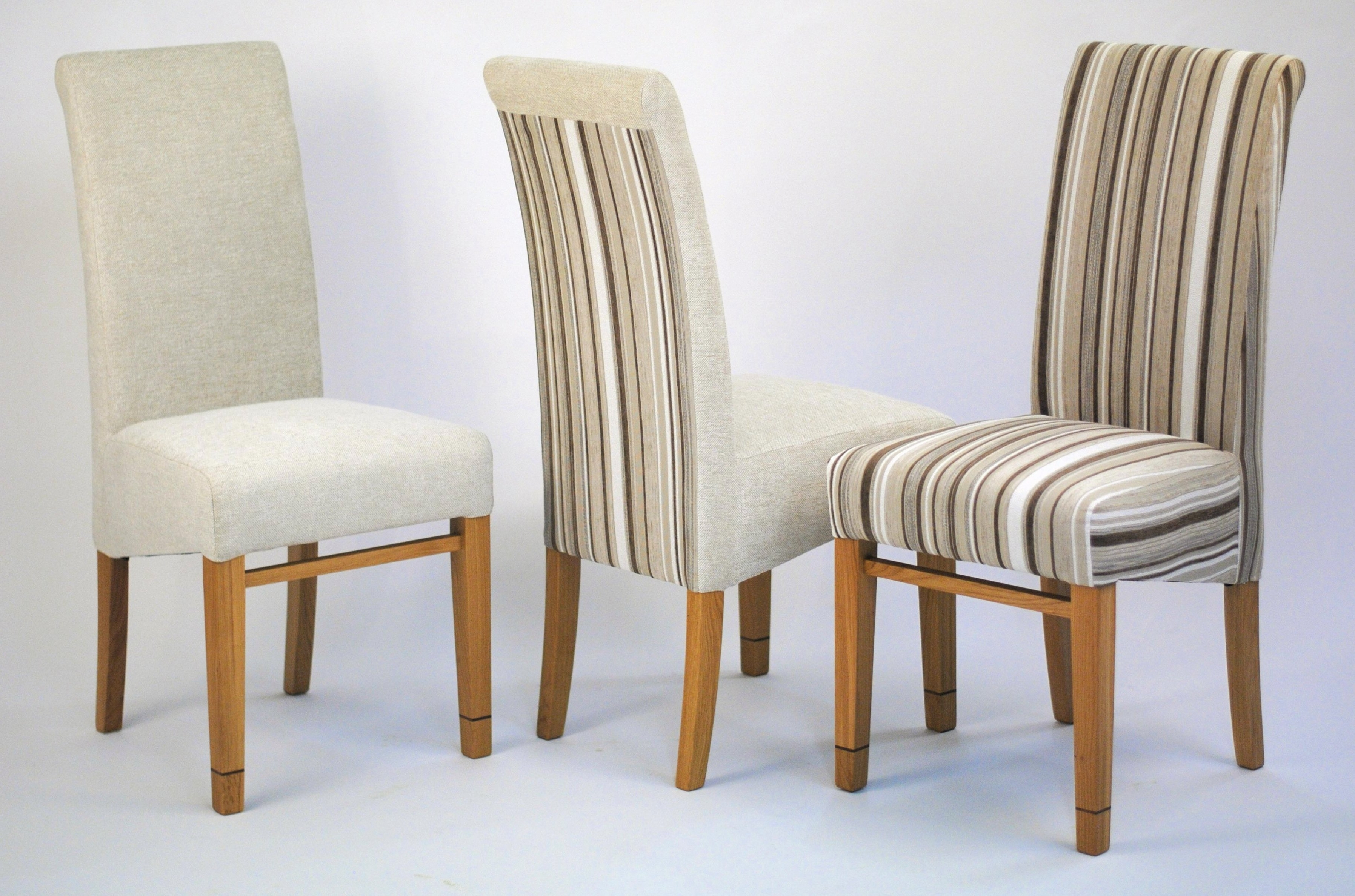 Trendy Upholstered Dining Chair – Tanner Furniture Designs With Fabric Dining Room Chairs (View 7 of 25)