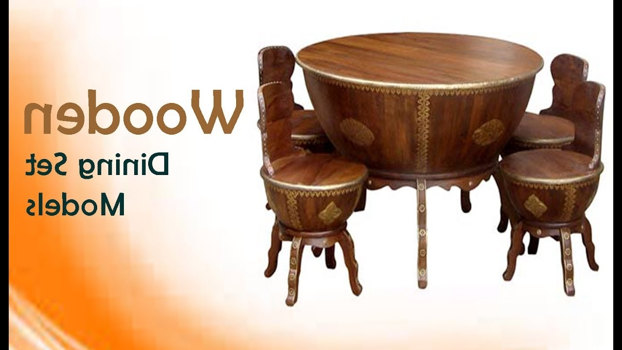Trendy Wooden Dining Sets Throughout Wooden Dining Table Sets: Traditional Wood Carving Models For All (View 7 of 25)